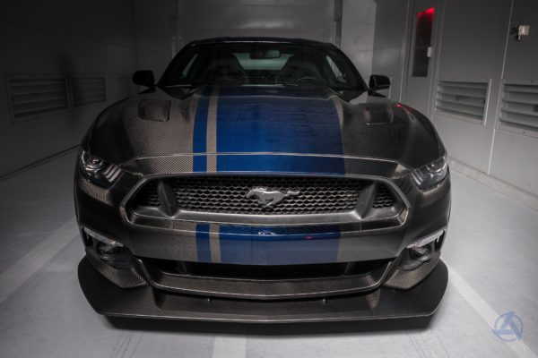 Ford Mustang,. Carbon Fiber, Custom Build, Carbon Fiber Ford Mustang