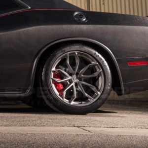 carbon fiber dodge challenger carbon fiber speed flairs side view