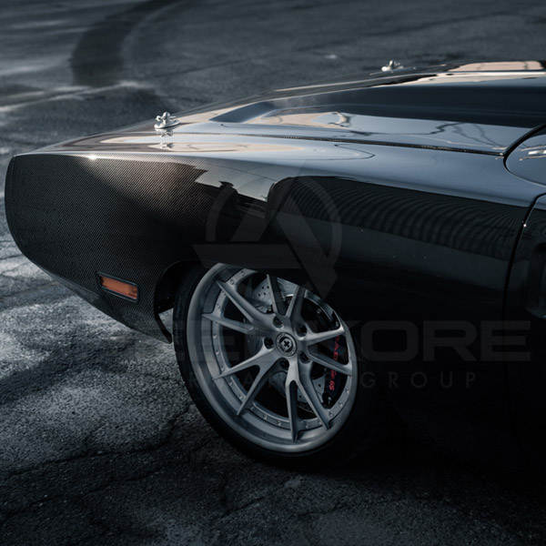 speedkore carbon fiber dodge charger carbon fiber front fender