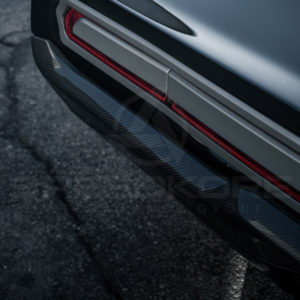 speedkore carbon fiber dodge charger tantrum carbon fiber rear bumper