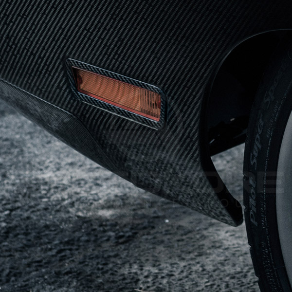 speedkore carbon fiber dodge charger carbon fiber side markers