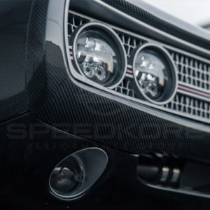 speedkore carbon fiber dodge charger carbon fiber lower valance under view