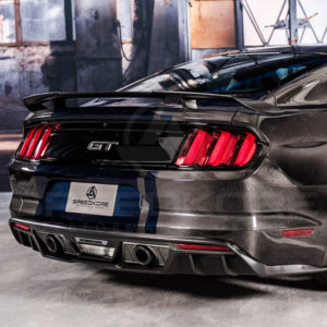 Ford Mustang, Decklid, Trunklid, Carbon Fiber, SpeedKore