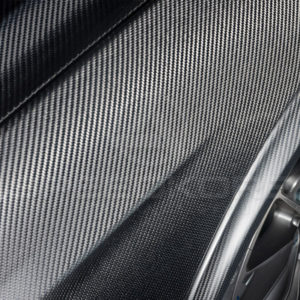 speedkore carbon fiber ford mustang carbon fiber fenders close view