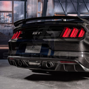 Ford Mustang, Rear Bumper, Carbon Fiber, SpeedKore, 2015, 2016, 2017